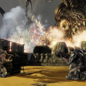 Gears of War 3 Campaign Impressions